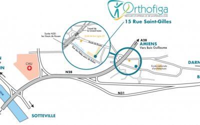 Orthofiga ouvre ses portes à Rouen !